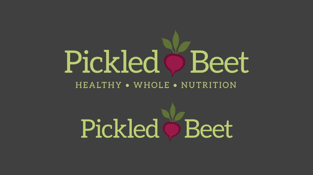 Pickled Beet Logo - Alternate Version
