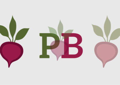 Pickled Beet Social Media Icon and Beet Art