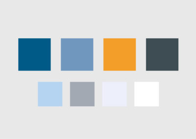 Corporate Website Color Palette Passport Online