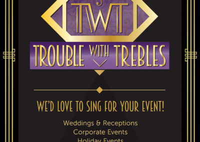 Trouble with Trebles Sign