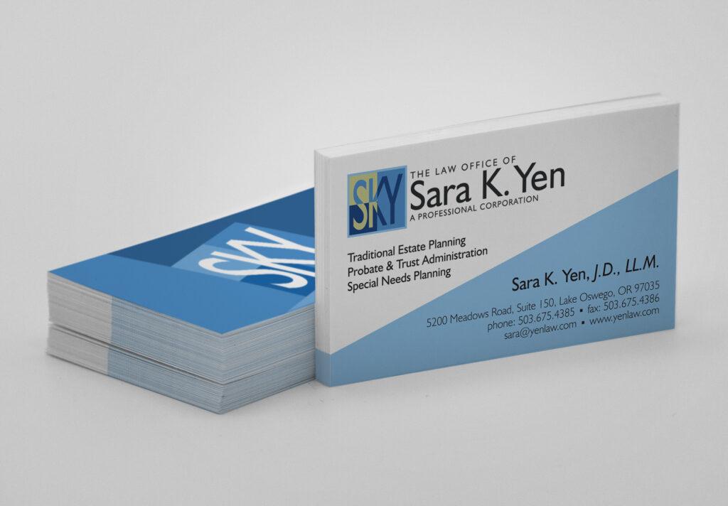 Yenlaw Business Card Design