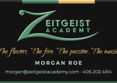 Zeitgeist Academy Business Card