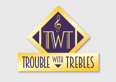 Trouble with Trebles Alternate Logo
